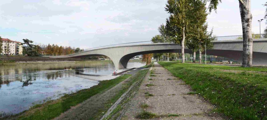 rendering nuovo ponte Arno tramvia Albereta