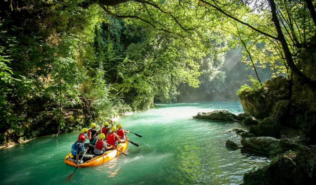 Slow Travel Fest Rafting fiume Elsa