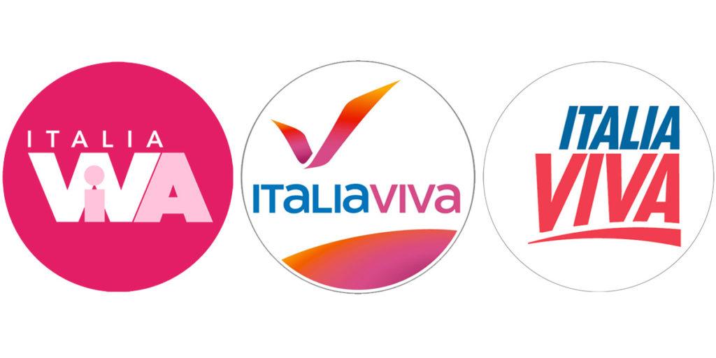 Le tre proposte tra le quali scegliere il simbolo di Italia Viva