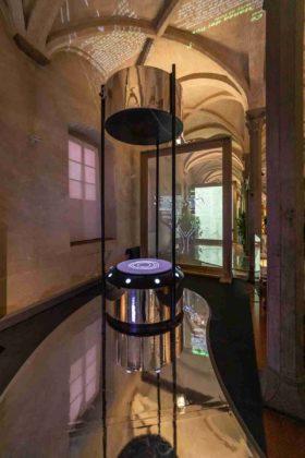 installazione La Botanica di Leonardo