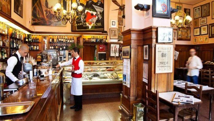 Caffé Giubbe Rosse Firenze riapertura