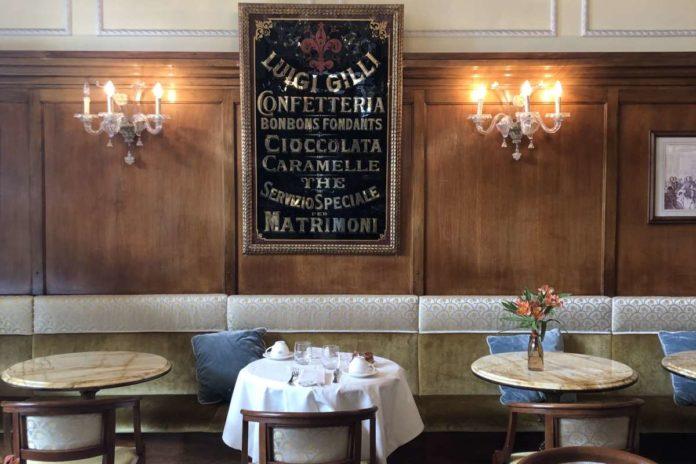 Caffè storici Firenze Gilli bar