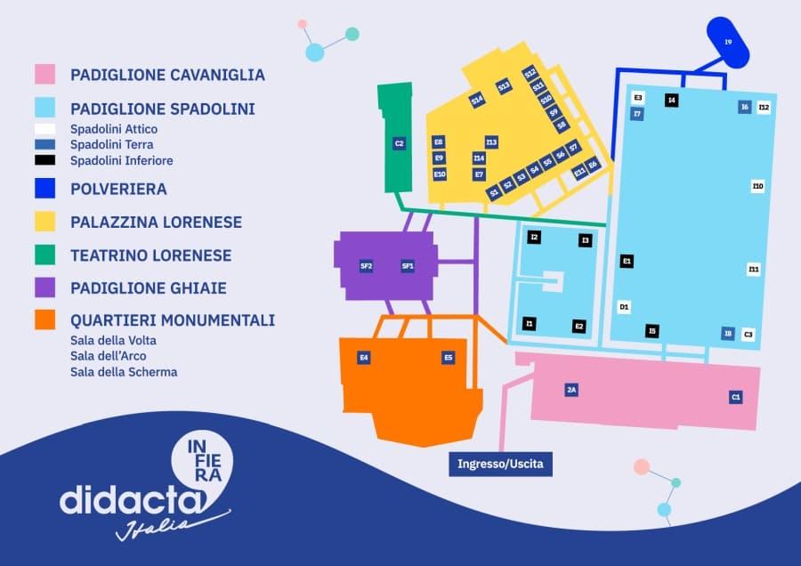 Didacta 2019 mappa