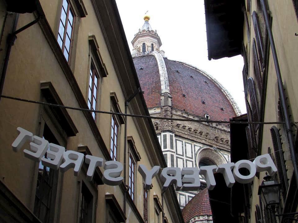 Fiera ceramica Firenze Santissima Annunziata via Servi
