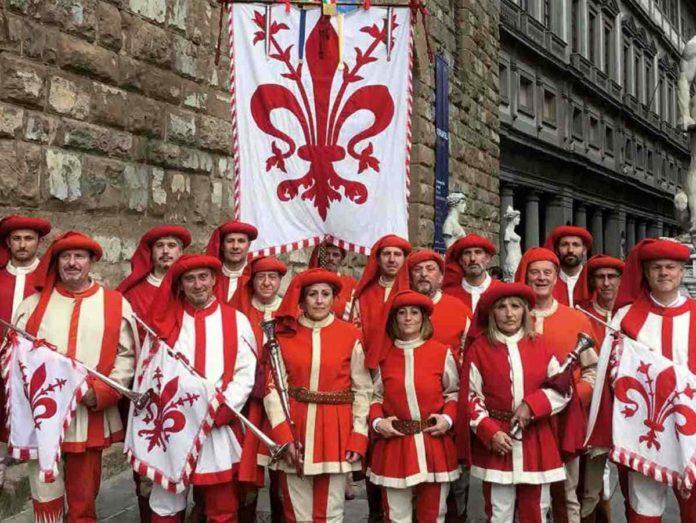 Gonfalone Firenze Quartiere 2