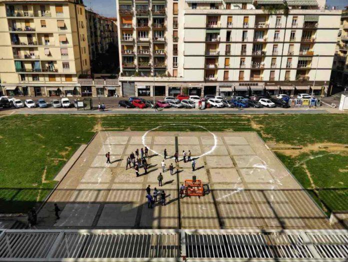 Passeggiata piazza Dallapiccola Spazi Spazi sospesi