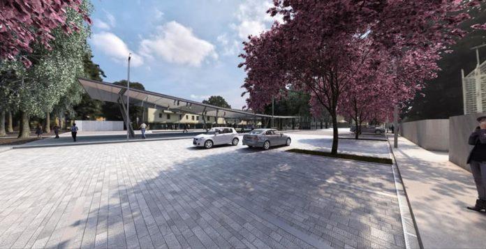 Parcheggio Isolotto via Magnolie rendering