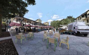 Piazza Isolotto Firenze lavori progetto