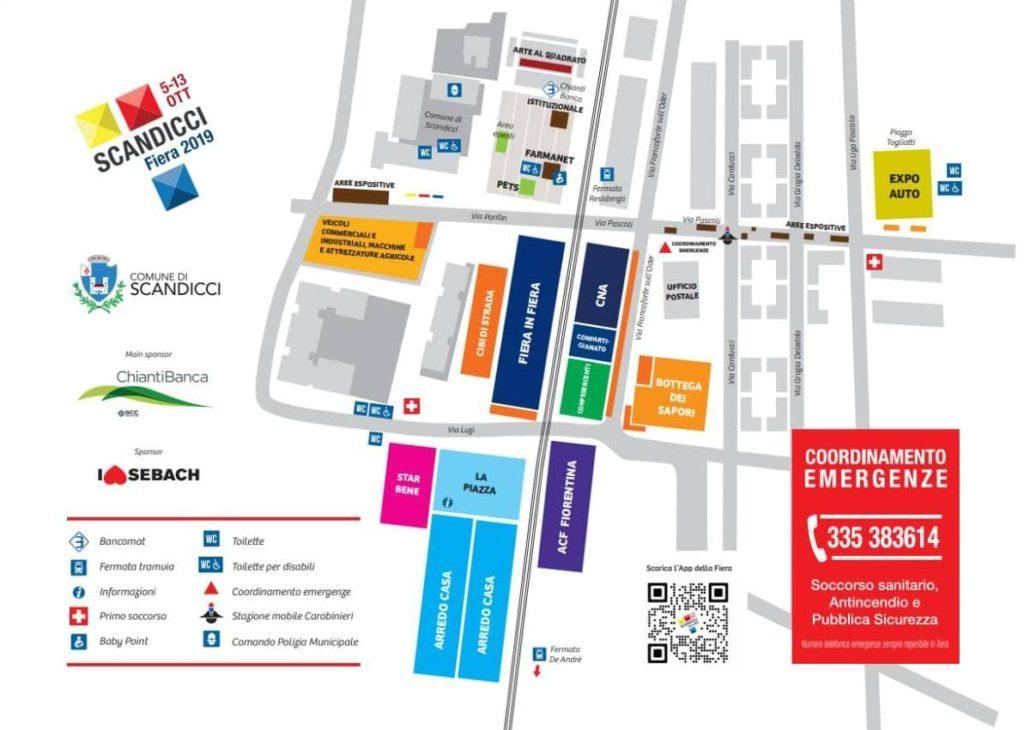 Fiera Scandicci 2019 ottobre mappa programma