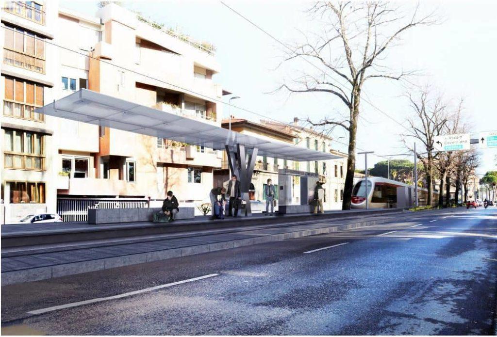 Fermate tramvia linea 3.2 Ghiarlandaio
