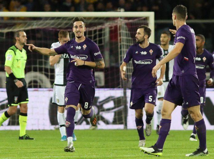 Fiorentina Parma 1-1. Il Parma ferma la Fiorentina