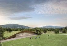 nuovo Centro sportivo fiorentina Bagno a Ripoli rendering