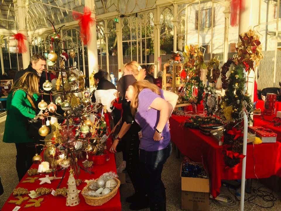 Christmas Bazar Tepidarium Rosteserra Orticoltura