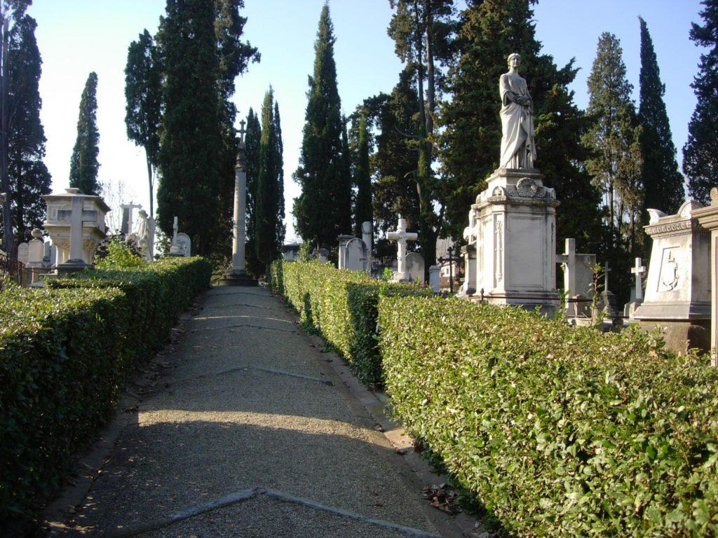 cimitero degli inglesi Firenze piazzale Donatello