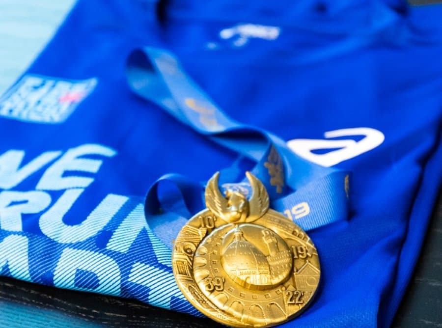 Firenze Marathon pacco gara