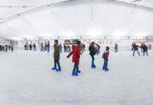 Firenze Winter Park pista pattinaggio ghiaccio