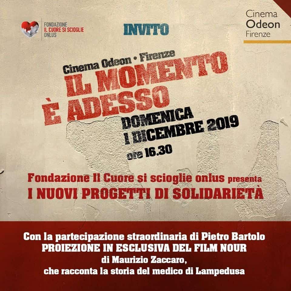 Il momento adesso Fondazione Cuore si scioglie Odeon Firenze