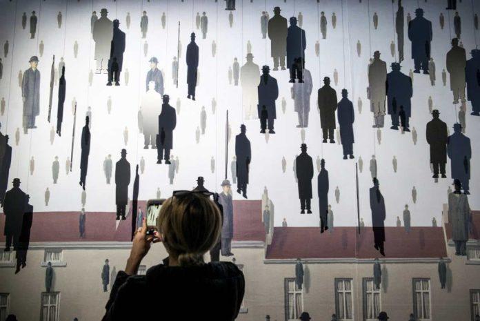 Inside Magritte Firenze mostra Santo Stefano Ponte