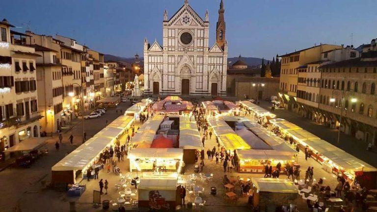 Mercatino Natale Santa Croce Firenze orari date