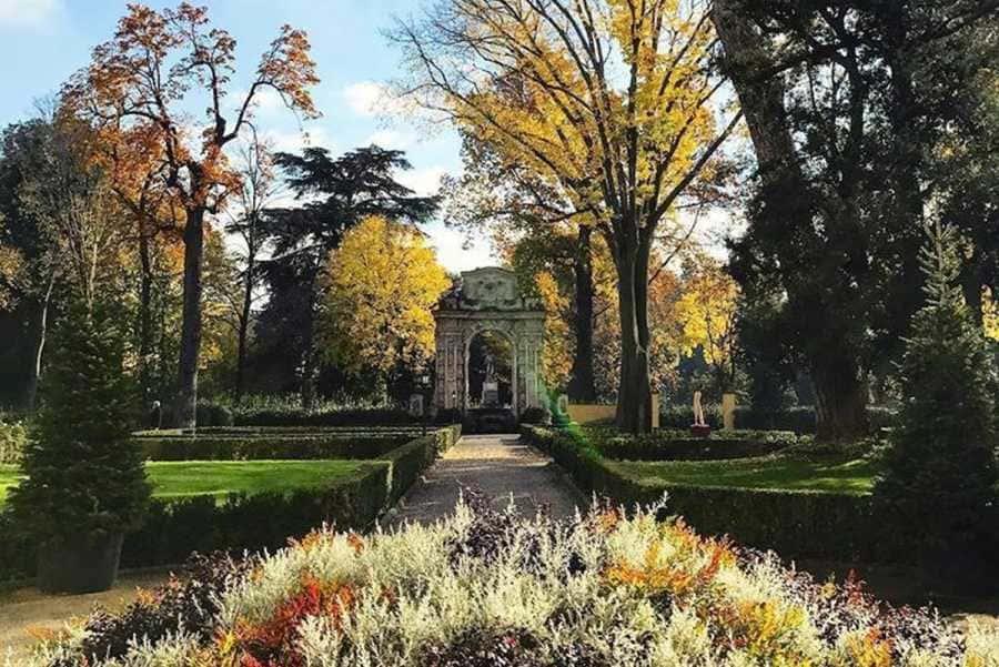 apertura giardino Gherardesca Firenze