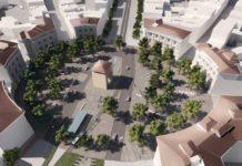 Piazza Beccaria Progetto linea 3 tramvia Firenze Bagno a Ripoli