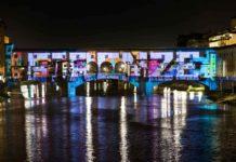 Flight Firenze Light Festival Ponte Vecchio