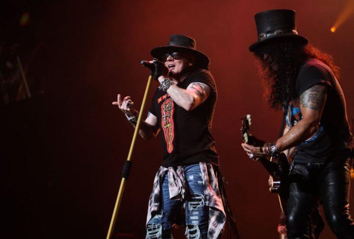 Guns n' Roses in concerto al Firenze Rocks il 12 giugno