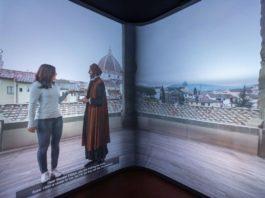 Museo Innocenti Firenze video camera immersiva