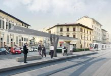 Piazza Gavinana tramvia linea 3.2 rendering