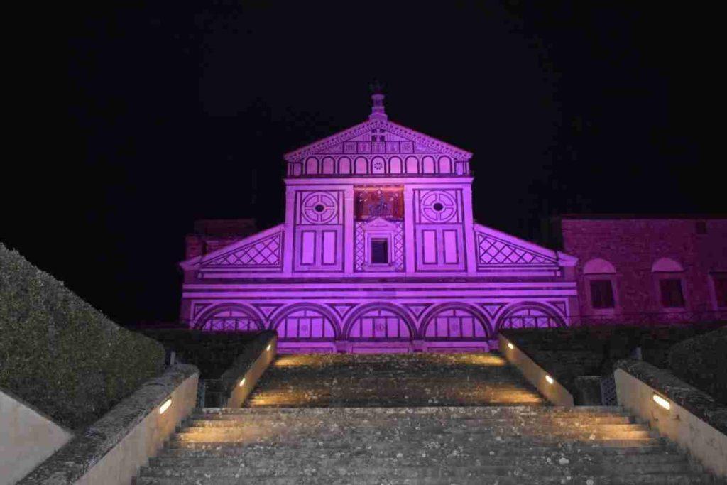 San Miniato al Monte festival luci Firenze dove