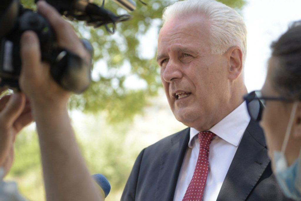 Eugenio Giani candidato centrosinistra Toscana Pd