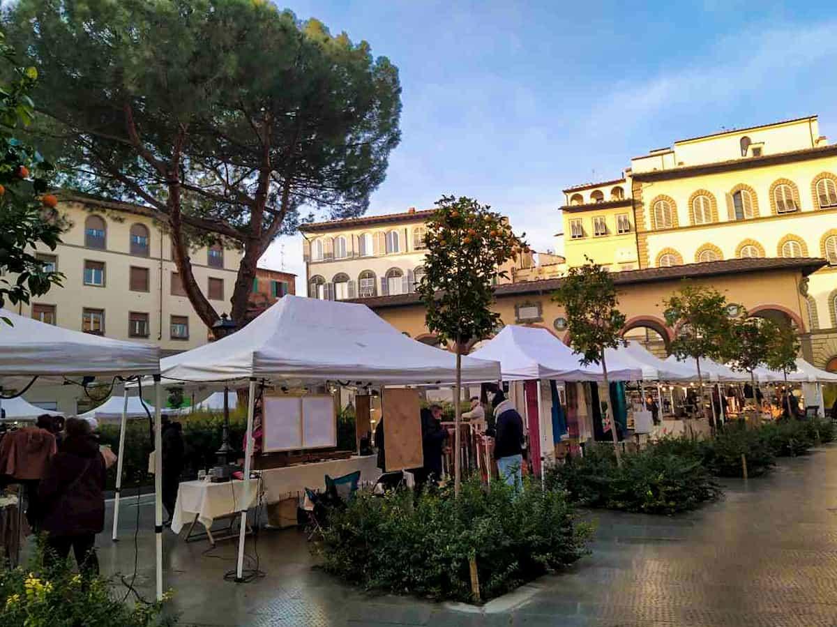 Mercatini piazza Ciompi Firenze date 2020