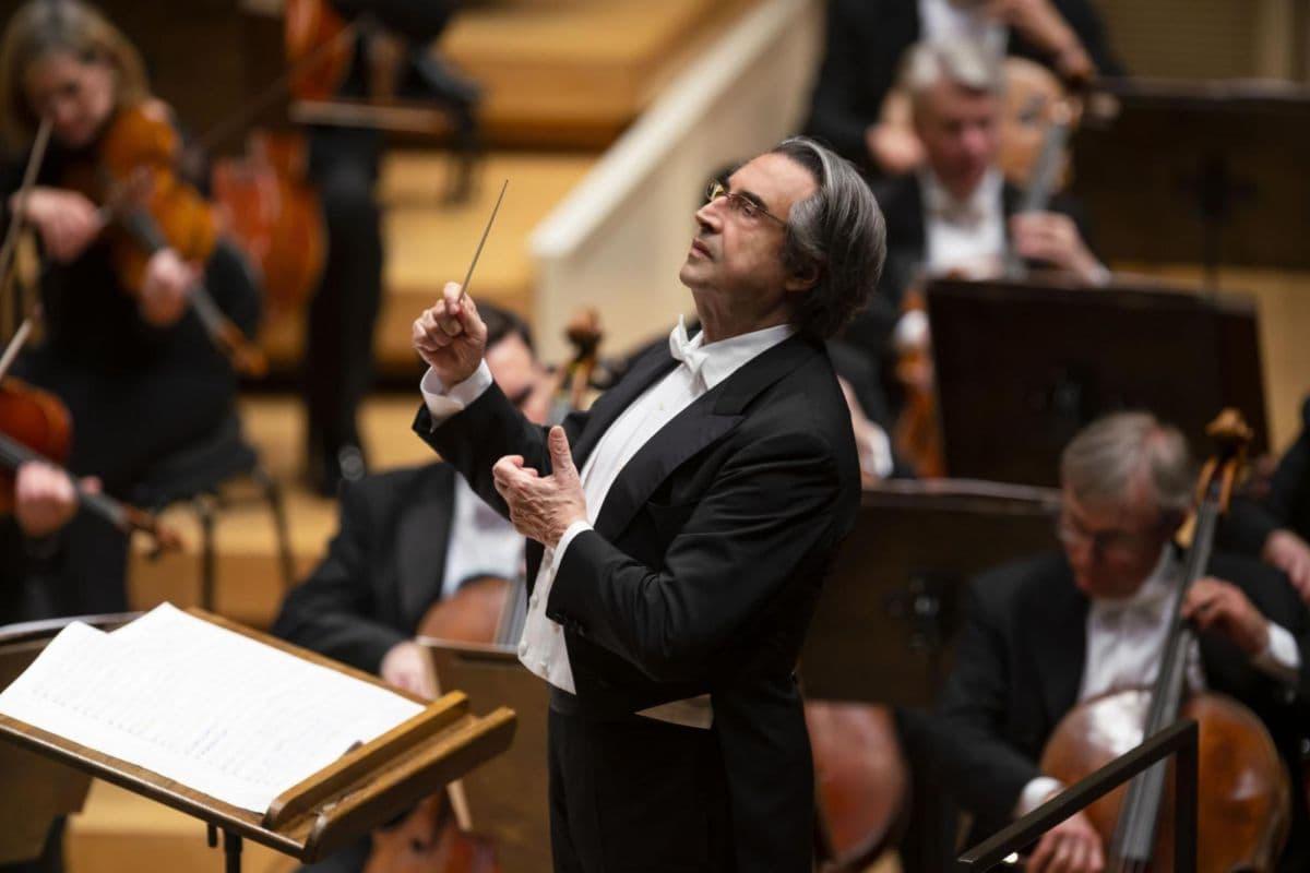 maestro Riccardo Muti concerto Firenze Teatro Maggio musicale fiorentino