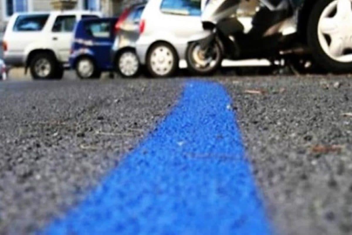 Strisce blu posteggio Firenze