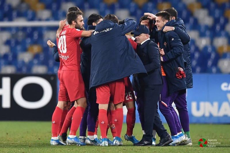 Napoli Fiorentina 0-2. Decidono le reti di Chiesa e Vlahovic