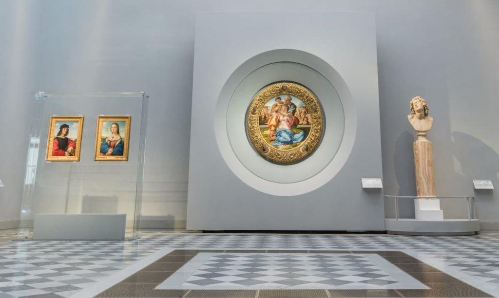 Tondo Doni Uffizi Firenze