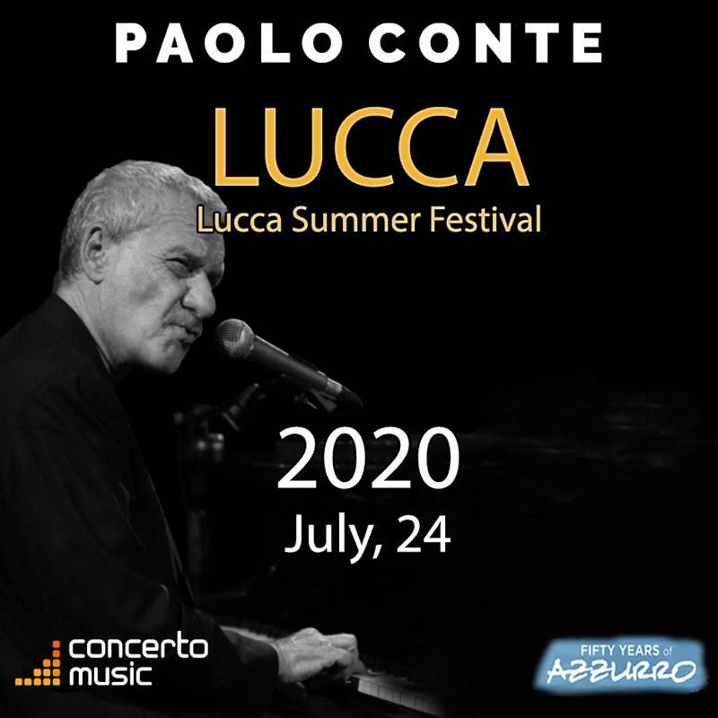 Paolo Conte Lucca Summer Festival 2020
