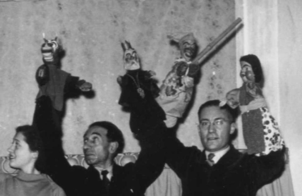 pupi di stac 1952 marionette