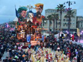 Carnevale Viareggio 2020 terzo corso 15 febbraio
