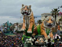 Carnevale Viareggio quindo corso mascherato 2020 23 febbraio 2020
