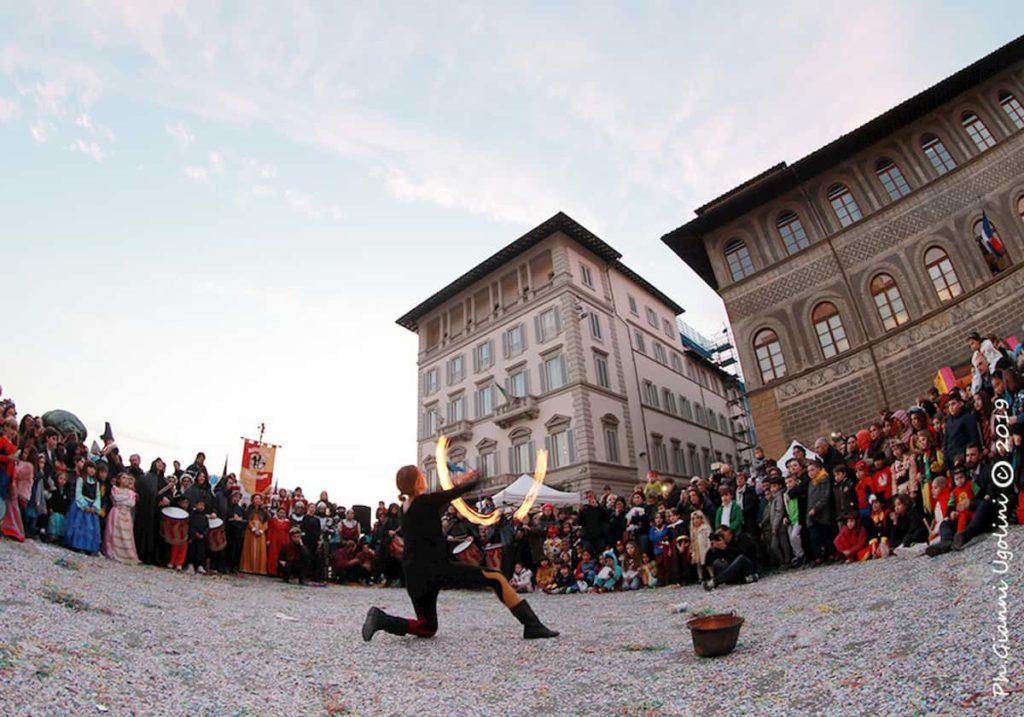 Festa carnevale piazza Ognissanti
