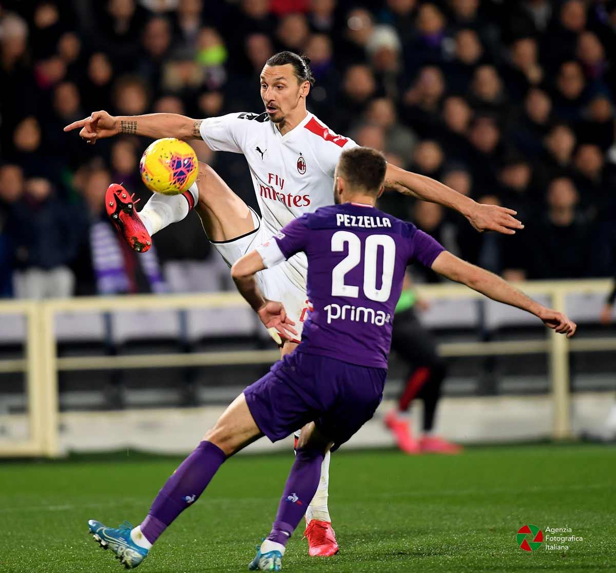 Ibrahimovic, Fiorentina Milan