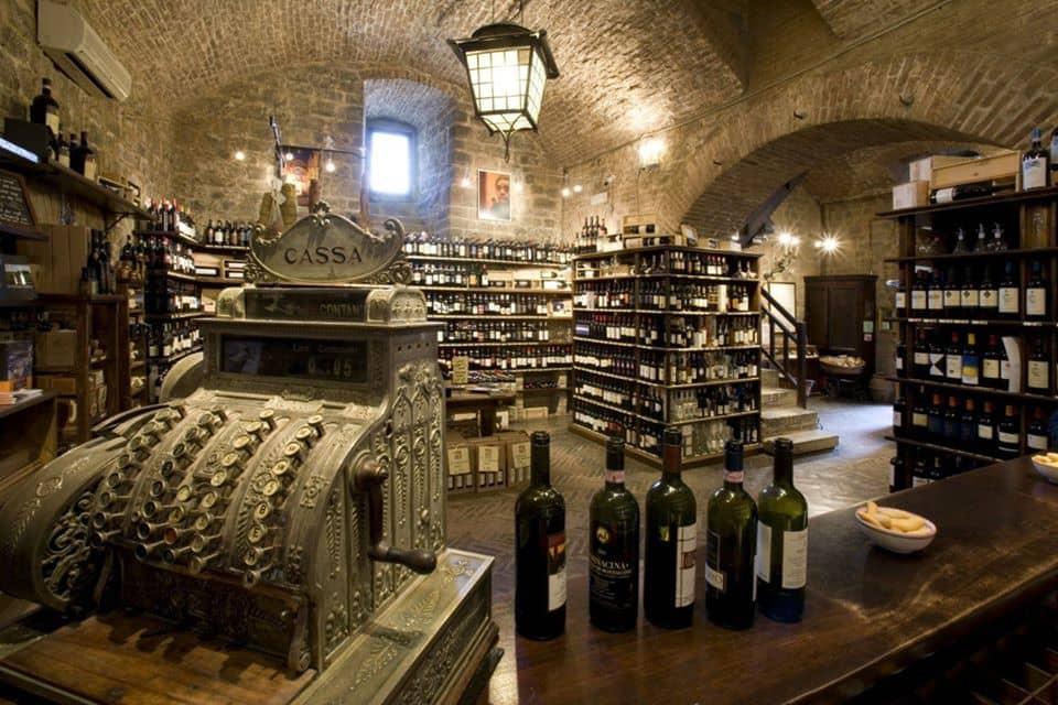 La Fortezza Montalcino enoteche toscana