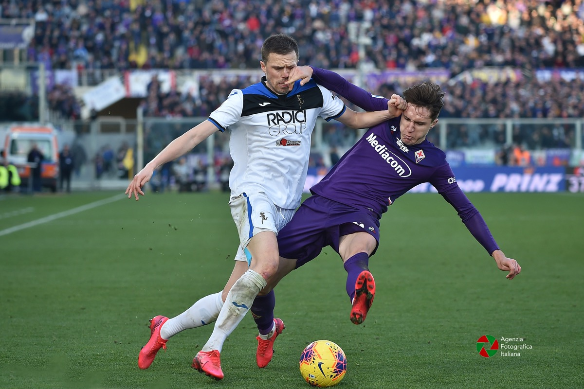 Federico Chiesa, Fiorentina Atalanta 8 febbraio