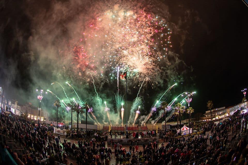 carnevale viareggio 2020 quarto corso 20 febbraio giovedì grasso