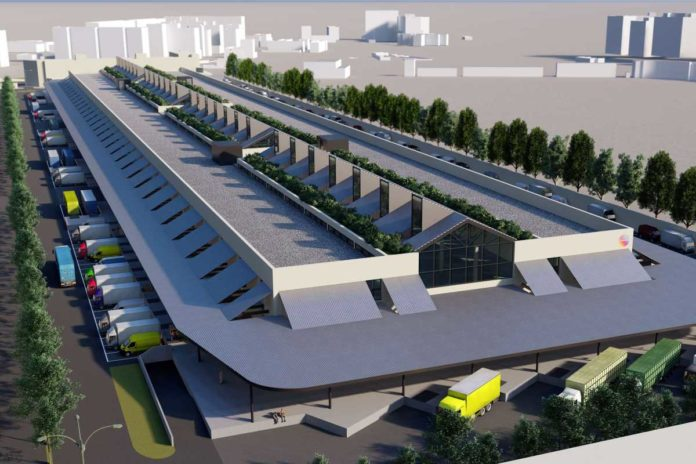 Mercafir Firenze masterplan nuovo stadio Novoli