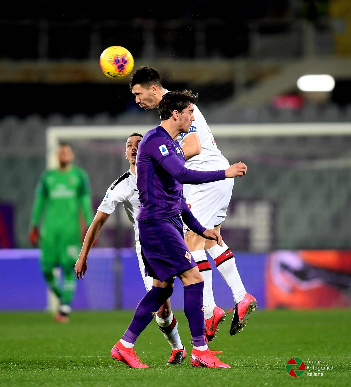 Fiorentina Milan 22 febbraio 2020