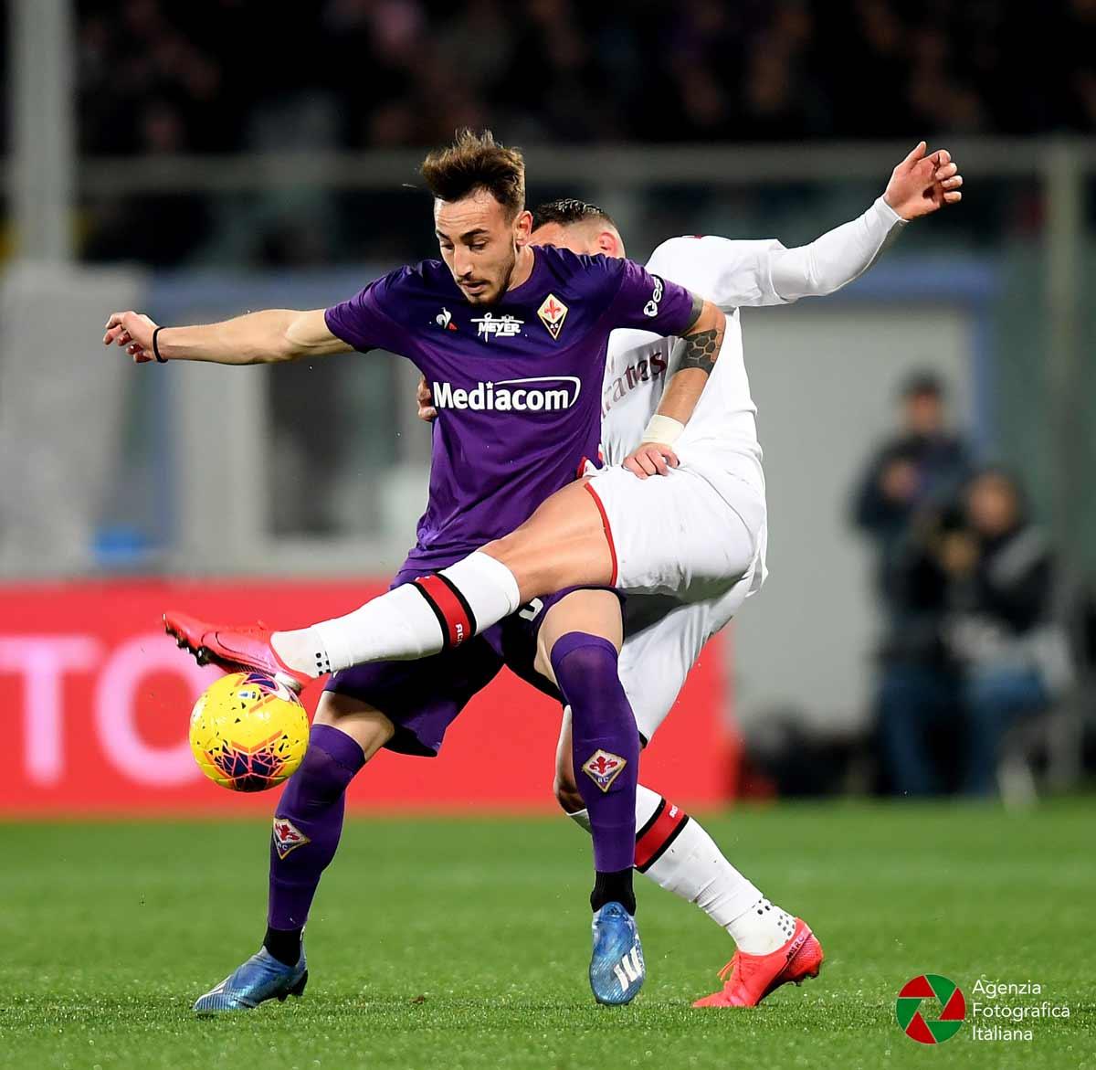 Castrovilli, Fiorentina Milan 22 febbraio 2020