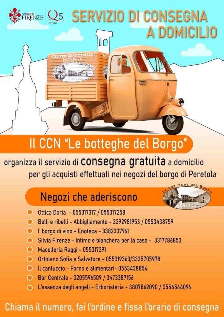 Spesa consegna domicilio gratis Firenze Peretola