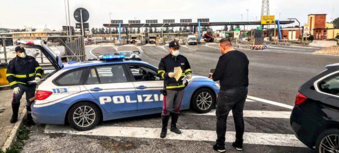 nuova autocertificazione 23 marzo cosa cambia controlli Polizia
